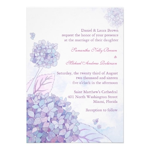 hydrangea wedding invitations susan patterson do you like these i