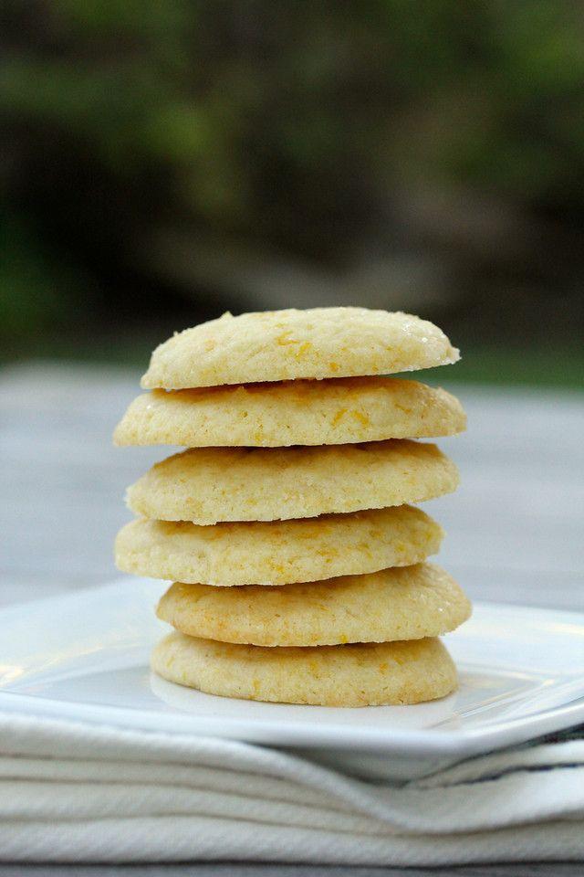 Meyer Lemon Vanilla Shortbread Cookies   mastercook recipes   Pintere ...