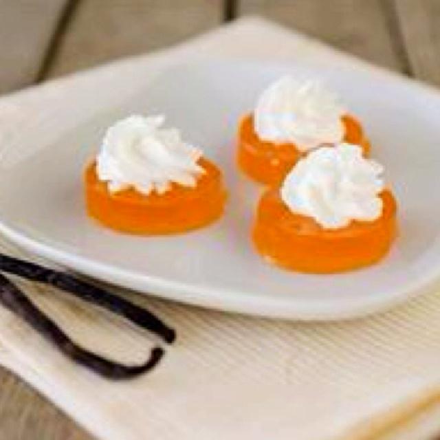 Creamsicle jello shots | What a Hoot! | Pinterest