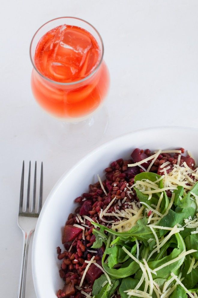 Secret Recipe // Olive and Thyme's Roasted Beet Farro