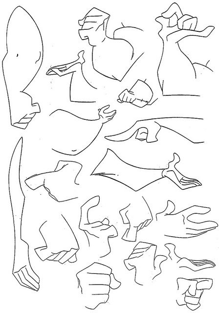 dibujar brazos fuertes