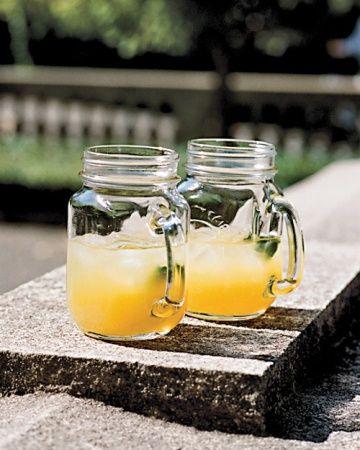 Minty Fresh - mint iced tea | wedding | Pinterest