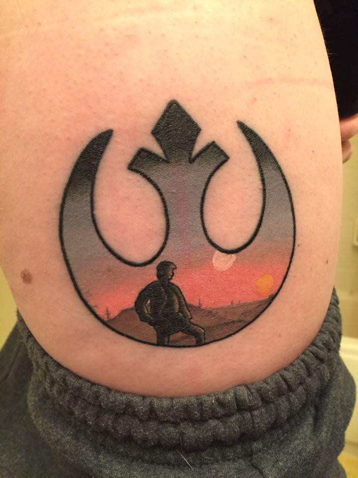 Similiar Star Wars Tattoo Rebel Keywords