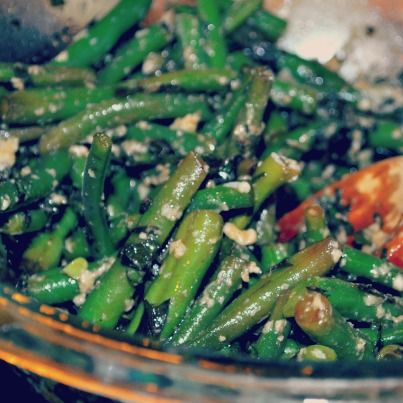 Green Bean Salad with Basil and Balsamic courtesy of @Elise Bauer ...