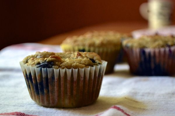 blueberry peach almond flour muffins | Healthy Recipes and Foods | Pi ...