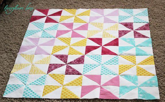 pinweel quilt tutorial