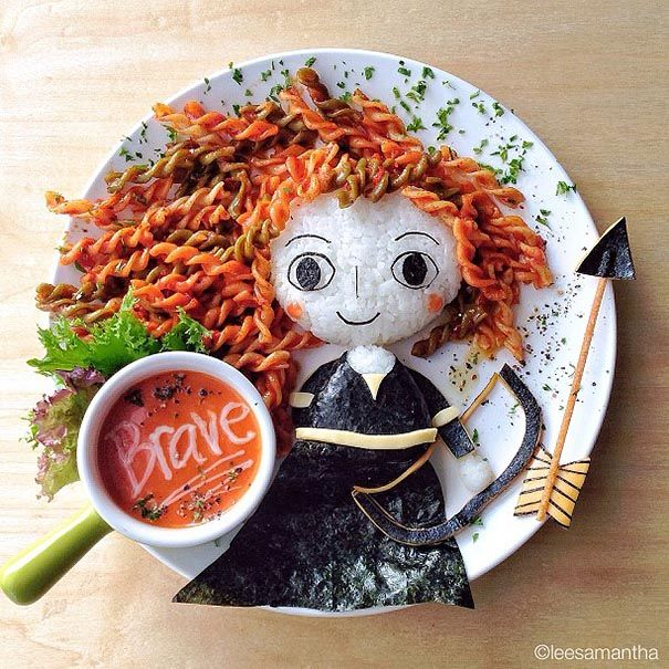 Lunch for kids #Brave #kidsdinge