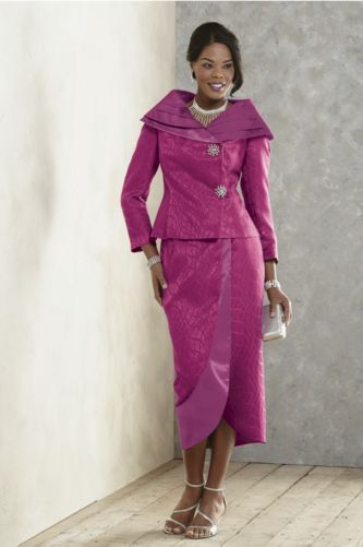 Zada Skirt Suit from ASHRO