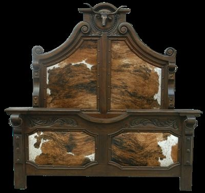 Longhorn bed High style western furniture The best in