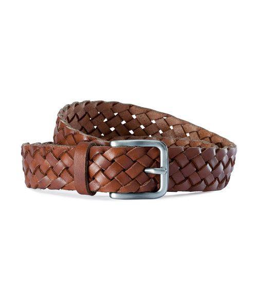 hm s leather braided belt matt s diy