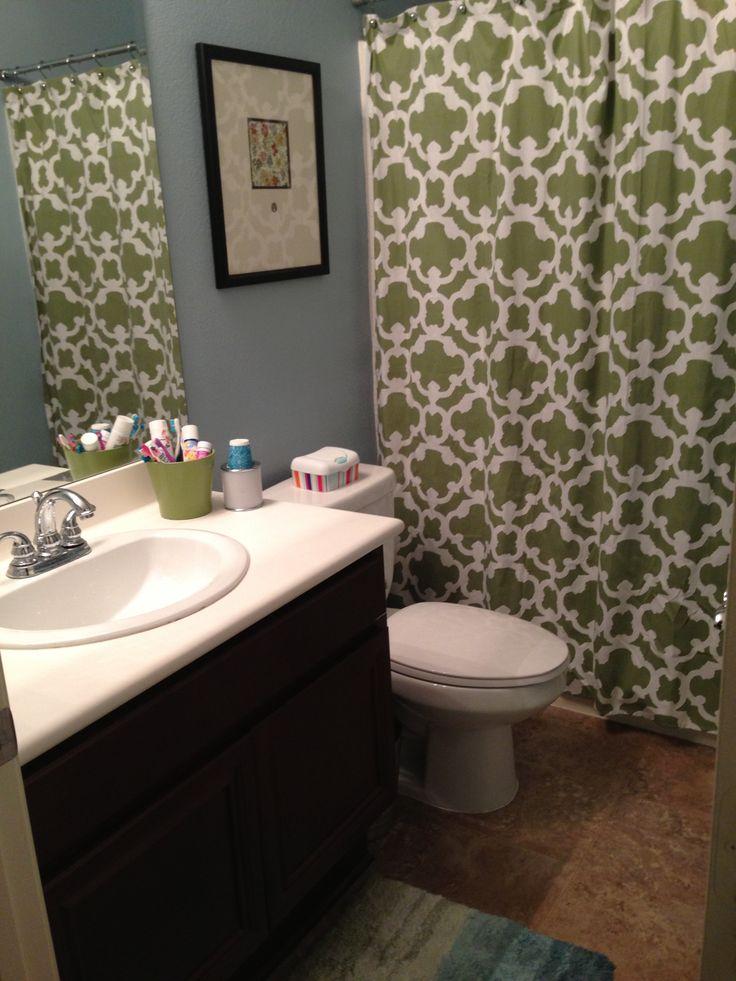 Blue And Green Bathroom House Decor Pinterest