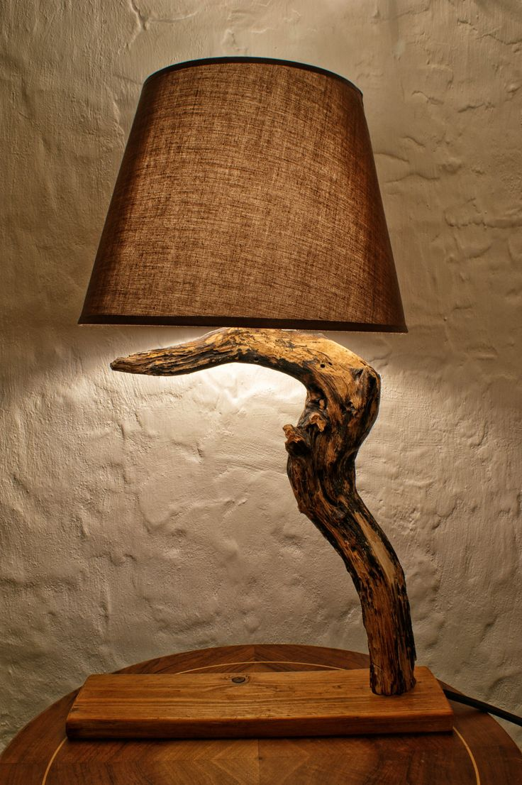 Black Friday/Syber Monday,Halloween Lamp, Luxurious Lamp, Hawthorn Wood Lamp, Natural Lamp, Wooden Lamp. $110.00, via Etsy.