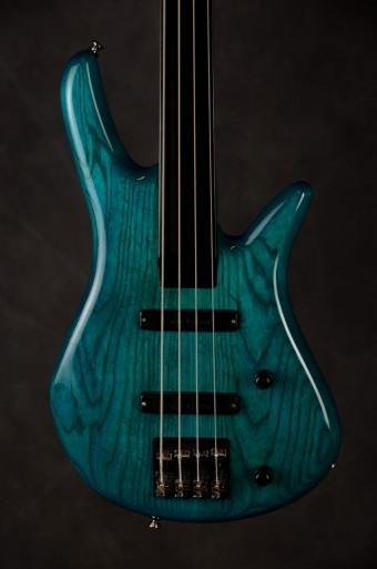 4-String Fretless....awesome color!