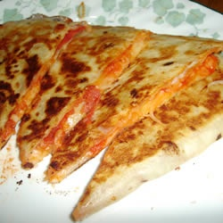 Grilled Pizza Wraps | Recipe