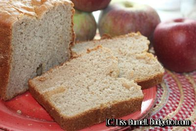 MYO Apple Cider Bread Machine Mix- A hearty loaf of Apple Cider bread ...