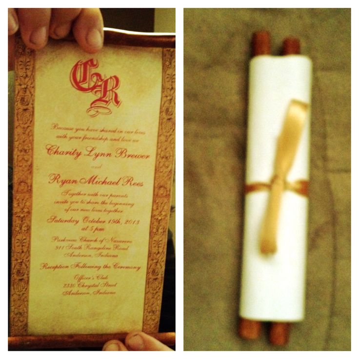 scroll wedding invitations america - 28 images - scroll wedding ...