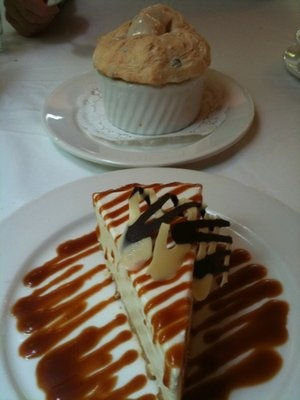Commander's Palace, Creole Bread Pudding Souffle', too die for!