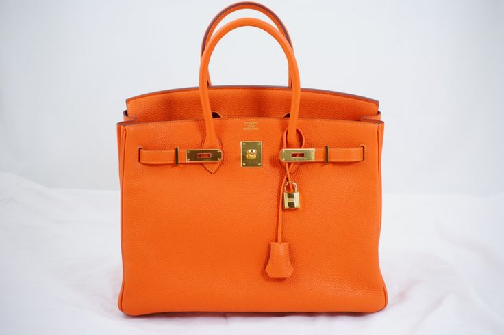 Orange Birkin Gold Hardware - Hermes