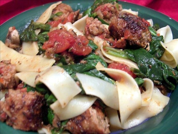 Pasta With Turkey Sausage And Smoked Mozzarella Recipes — Dishmaps