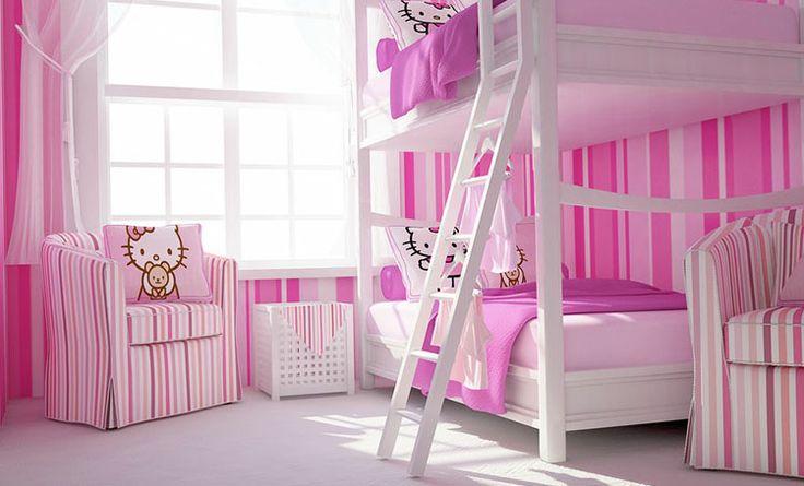 Hello Kitty Toddler Room Ideas