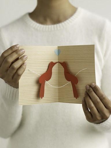 martha stewart 3d valentines day cards