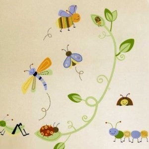 Cute As A Bug Wall Decals