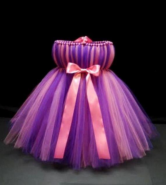 Purple and Pink Tutu Dress Abby Cadabby Costume Birthday