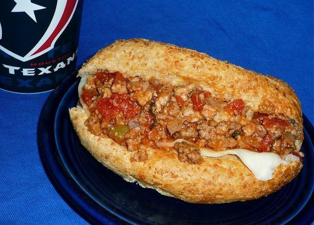 The Weekend Gourmet: Italian Sloppy Joes | Sandwiches | Pinterest