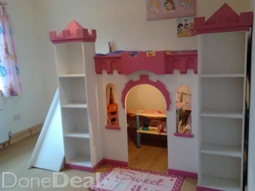 Kids Castle Bed Playhouse