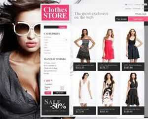 Clothing stores online Starting online clothing store