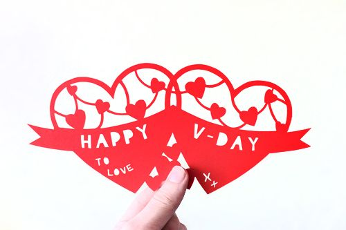 Valentine Fun with Guest Blogger Neil Rook -  DIY Valentine Papercut Template!! by Amanda Oaks, via Flickr