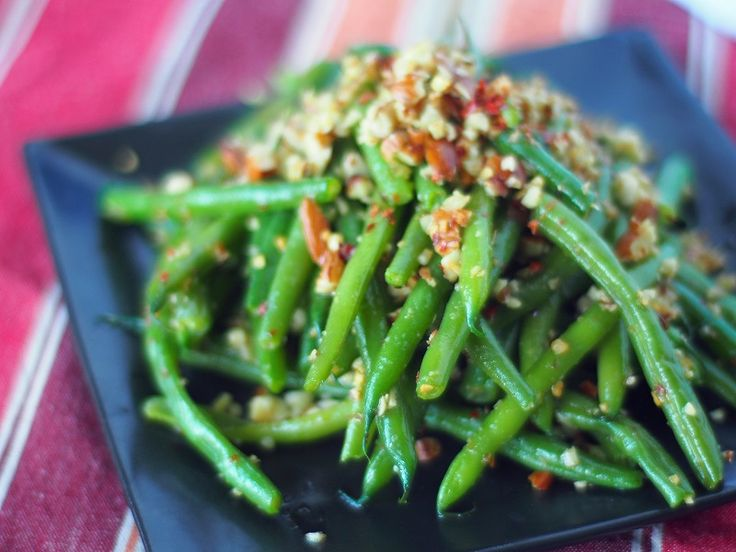 More like this: spicy green beans , green bean and almond .