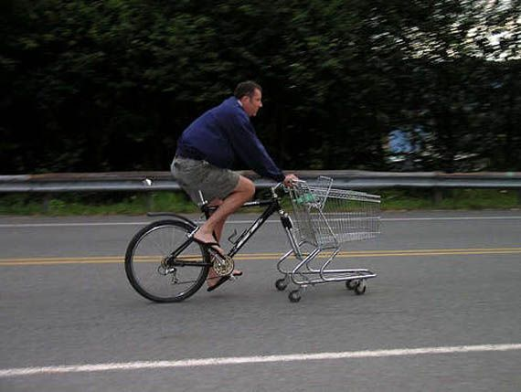 Biking To The Supermarket Made Easy!