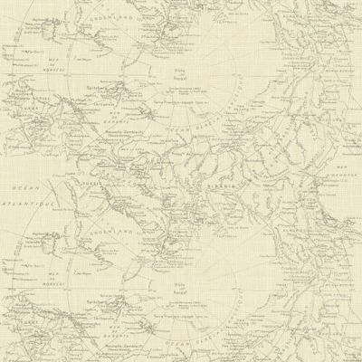 Fresco map wallpaper cream homebase beachy living for Wallpaper homebase
