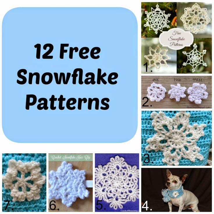 Free easy crochet snowflake patterns healty living guide