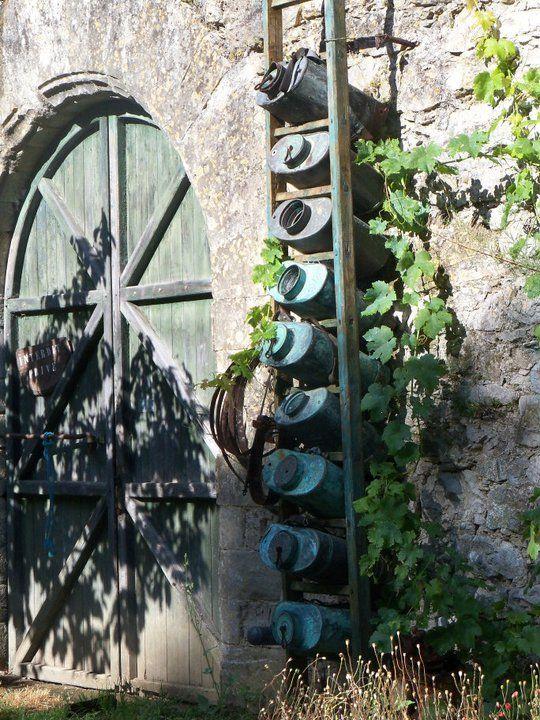 Jardin d co et r cup 39 d co pinterest - Pinterest deco jardin recup ...