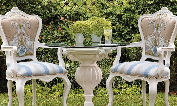 Replicating the exquisite detailing found on Italian fauteuil chairs, our Portofino Lounge Chair brings unexpected indoor elegance to your garden or patio.