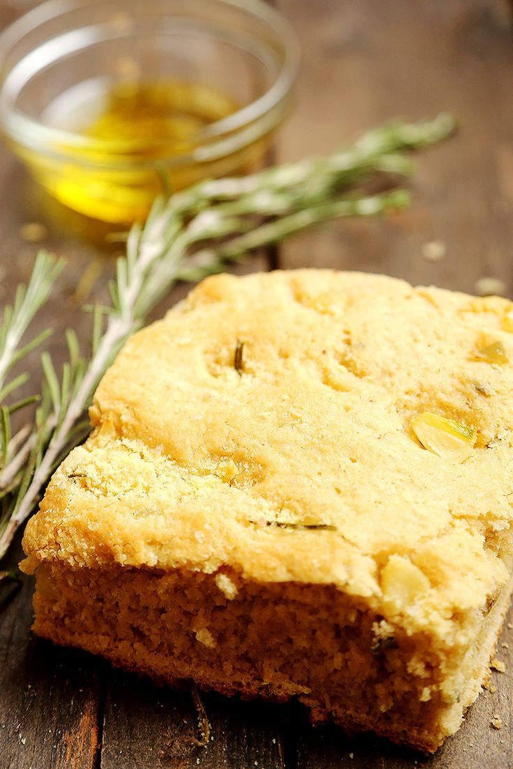 Rosemary Focaccia Bread. | Food, sweets and beverages. | Pinterest