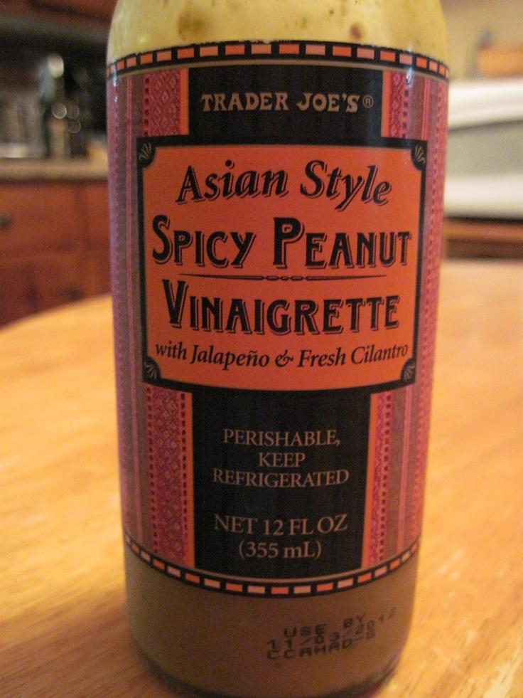 Spicy Peanut Vinaigrette So good on tacos! with the broccoli slaw ...