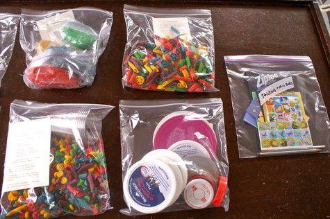 Toddler and Preschooler Activity Bag Fun! « Intrepid Murmurings