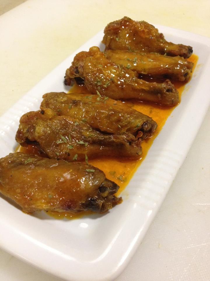 honey glazed spicy buffalo wings | Buffalo Wings | Pinterest