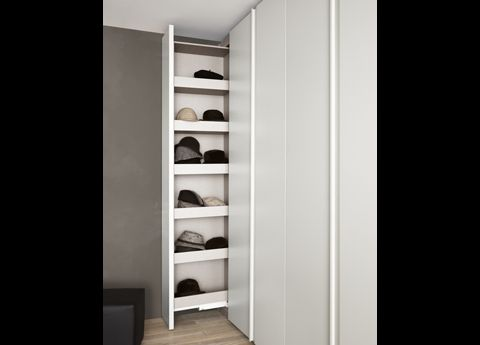 This is a slide out bit for some wardrobes we have JUST for handbags (& hats). LOVE it.