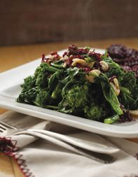Chef Ethan Stowell's recipe for rapini with garlic, chile and lemon ...