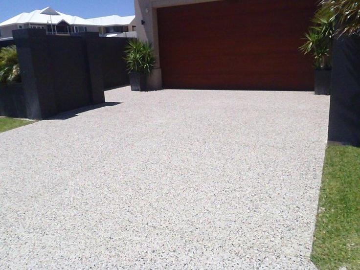 Exposed Aggregate Driveway Perth Walkin On Sunshine
