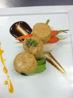 Miso Crusted Tofu Skewers | Recipe