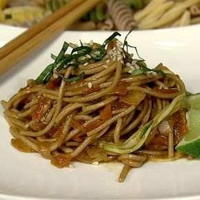 ASIAN PEANUT NOODLES   Food   Pinterest