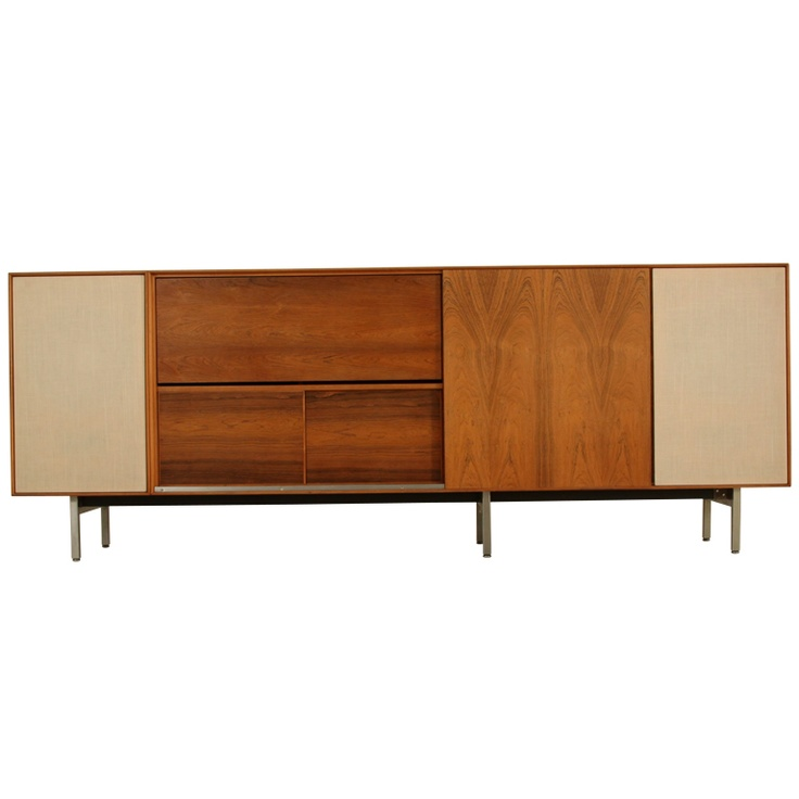 George Nelson Thin Line Stereo Cabinet