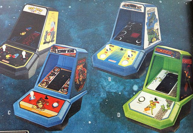 Totally remember playing Donkey Kong and Qbert on these at my cousins'