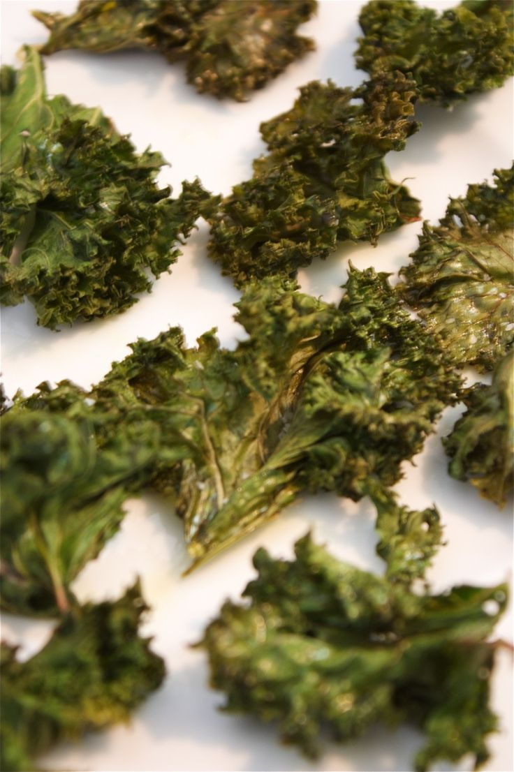 easy kale chips.....instead of potato chips!