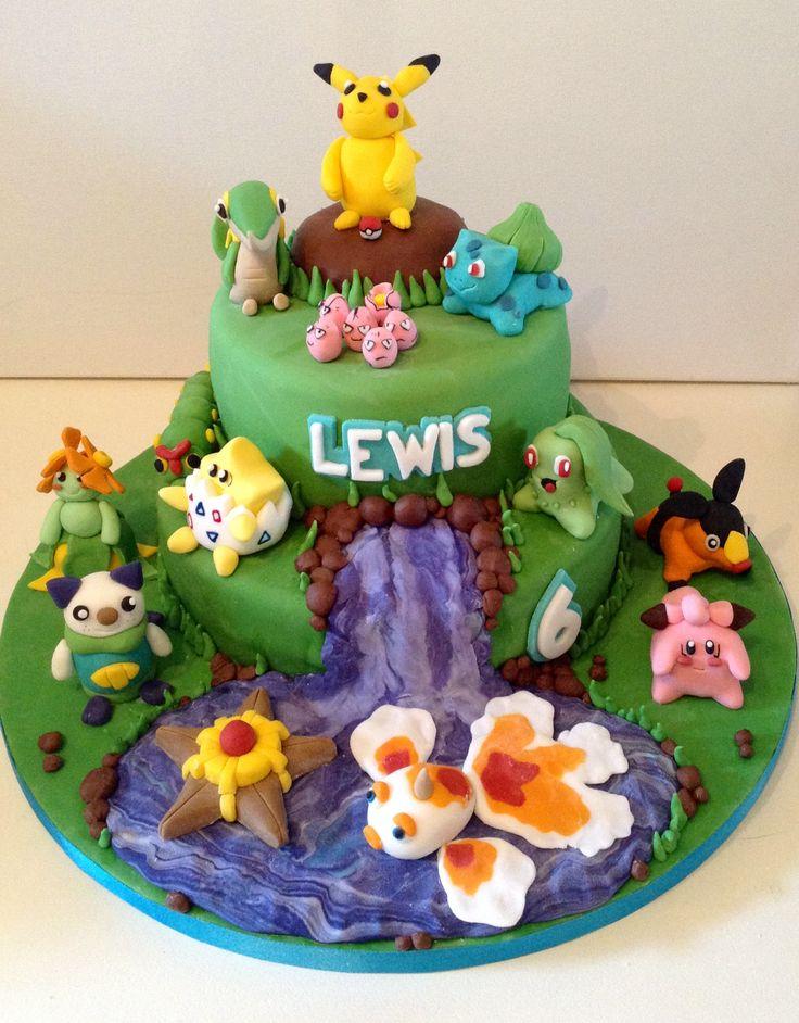 Pin Pokemon Birthday Cake Flickr Photo Sharing On
